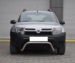Защита переднего бампера для Dacia Duster (2010+) DCDS.10.F1-23 d60мм x 1.6