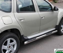 Пороги Dacia/Renault Duster [2010+] BB003 (Asos)