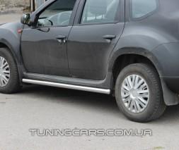 Пороги трубы Dacia Duster (10+) DCDS.10.S1-01