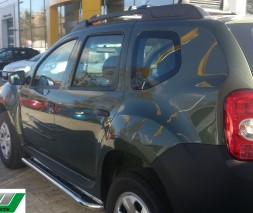 Пороги Dacia/Renault Duster [2010+] KB001 (Hector)