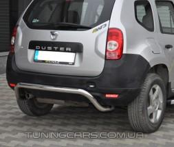 Защита заднего бампера для Dacia Duster (2010+) DCDS.10.B1-19 d60мм x 1.6