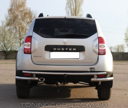 Задняя защита Dacia Duster (10+) DCDS.10.B1-31