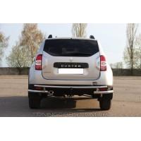 Защита заднего бампера для Dacia Duster (2010+) DCDS.10.B1-31 d60мм x 1.6