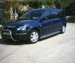 Кенгурятник Dacia/Renault Logan MCV WT006