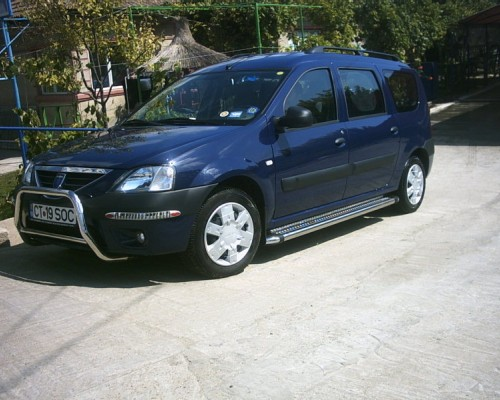 Пороги Dacia Logan MCV KB002 (Hunter)