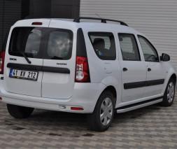 Пороги Dacia Logan MCV NS001 (Newstar Grey)