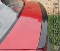 Лип спойлер Dacia Logan, Дача Логан, (сабля)