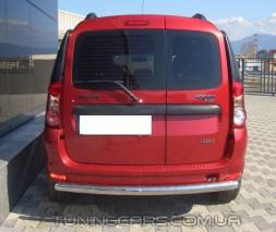Защита заднего бампера для Dacia Logan MCV (2004-2013) DCLG.10.B1-02 d60мм x 1.6