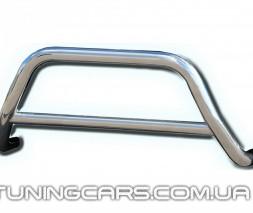 Защита переднего бампера для Dacia Sandero Stepway (2013+) DCSW.13.F1-11 d60мм x 1.6