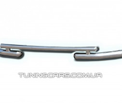 Передняя защита ус Dacia Sandero Stapway (13+) DCSW.13.F3-07