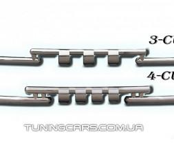 Защита переднего бампера для Dacia Sandero Stepway (2013+) DCSW.13.F3-08 d60мм x 1.6