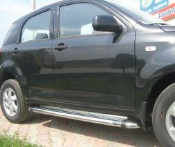 Пороги Daihatsu Terios [2006+] KB002 (Hunter)