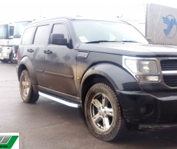 Пороги Dodge Nitro [2007+] NS001 (Newstar Grey)