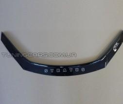 Дефлектор капота (мухобойка) для DODGE Stratus 2000–2004 г.в.