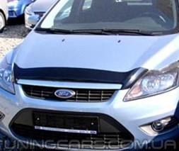 Дефлектор капота Ford Focus II 2008-2010