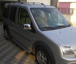 Пороги Ford Connect EB001 (Elegance Silver)
