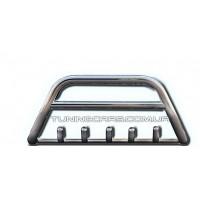 Защита переднего бампера для Ford Custom (2012+) FDCT.12.F1-03M d60мм x 1.6