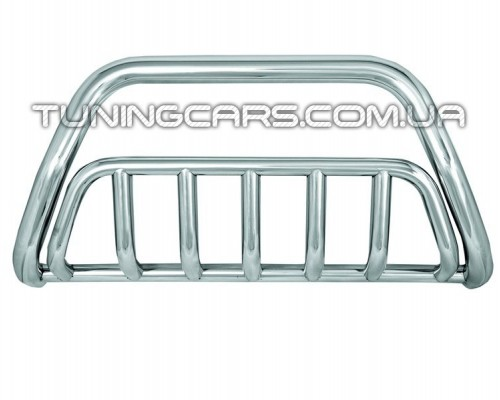 Защита переднего бампера для Ford Kuga (2008-2012) FDKG.08.F1-02 d60мм x 1.6