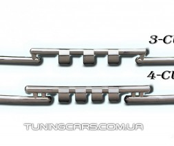 Передняя защита ус Ford Kuga (13+) FDKG.13.F3-08