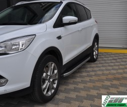 Пороги Ford Kuga NS001 (Newstar Grey)