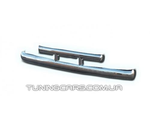 Защита заднего бампера для Ford Kuga (2013+) FDKG.13.B1-05 d60мм x 1.6