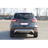 Защита заднего бампера для Ford Kuga (2013+) FDKG.13.B1-19 d60мм x 1.6