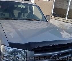 Дефлектор капота Ford Ranger 2010+