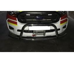 Защита переднего бампера для Ford Ranger (2015+) FDRG.15.F3-25 d60мм x 1.6