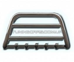 Защита переднего бампера для Ford Ranger (2015+) TYHL.15.F1-34 d60мм x 1.6