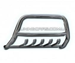 Защита переднего бампера для Ford Ranger (2006-2012) FDRG.06.F1-04 d60мм x 1.6