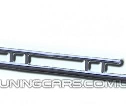 Защита заднего бампера для Ford Ranger (2006-2012) FDRG.06.B1-14 d60мм x 1.6