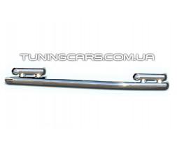 Защита заднего бампера для Ford Ranger (2006-2012) FDRG.06.B1-17 d60мм x 1.6