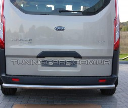 Защита заднего бампера для Ford Transit Custom (2012+) FDCT.12.B1-02 d60мм x 1.6