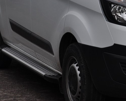 Пороги Ford Transit AB004 (Artemis Silver)