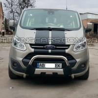 ПЕРЕДНЯЯ ЗАЩИТА КЕНГУРЯТНИК Ford Transit Custom (2012-2018) FDCT.12.F1-P