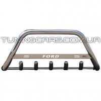 Защита переднего бампера для Ford Transit (2000-2006) FDTR.00.F1-09 d60мм x 1.6