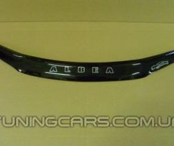 Дефлектор капота Fiat Albea 2007+