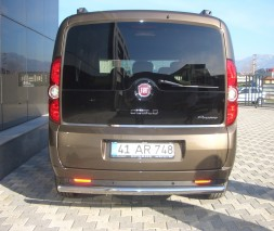 Задняя защита Fiat Doblo [2005+] AK002