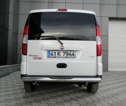 Защита заднего бампера Fiat Doblo [2005+] AK002