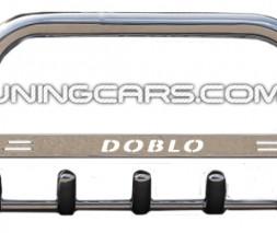Передняя защита кенгурятник Fiat Doblo (10-15) FTDB.10.F1-09