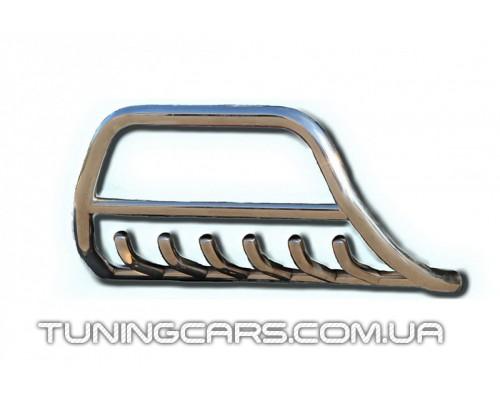 Защита переднего бампера для Fiat Doblo (2004-2009) FTDB.04.F1-03 d60мм x 1.6