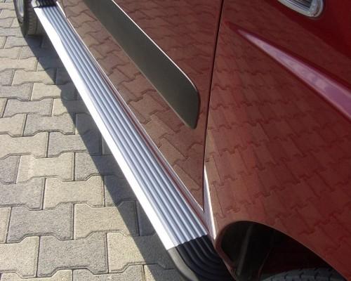 Пороги Fiat Doblo EB001 (Elegance Silver)