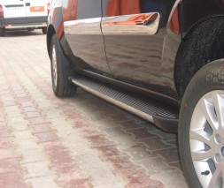 Пороги Fiat Doblo EB002 (Elegance Black)