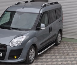 Пороги Fiat Doblo NS001 (Newstar Grey)