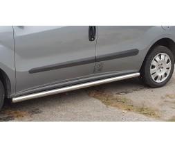 Пороги трубы для Fiat Doblo (2010-2015) FTDB.10.S1-01L длинная база d60мм x 1.6