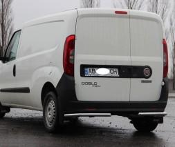 Защита заднего бампера Fiat Doblo [2010+] AK003
