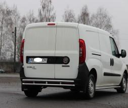 Задняя защита Fiat Doblo [2010+] AK Model