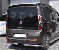 Задняя защита Fiat Doblo B1-09