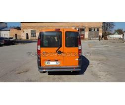 Защита заднего бампера для Fiat Doblo (2004-2010) FTDB.04.B1-02 d60мм x 1.6