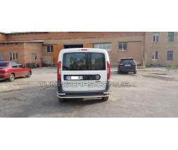 Задняя защита Fiat Doblo (15+) FTDB.10.B1-17